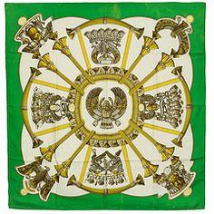 Hermes. Emerald green. Gold. Egypt.