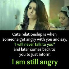 Hain jaan tabhi to tum itni payari ho. Bff Quotes, Best Friend Quotes, Photo Quotes, Movie Quotes, Friendship Quotes, Funny Quotes, Qoutes, Girly Attitude Quotes, Girly Quotes