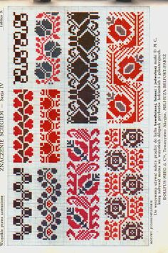 Traditional Slavic Embroidery - It Was A Work of Craft Russian Cross Stitch, Celtic Cross Stitch, 123 Cross Stitch, Cross Stitch Borders, Cross Stitch Designs, Cross Stitching, Cross Stitch Embroidery, Embroidery Patterns, Hand Embroidery