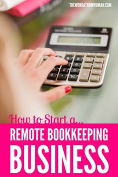 Start a bookkeeping business from home no experience required how to start a remote bookkeeping business malvernweather Image collections