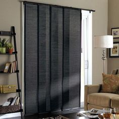 Blinds For Sliding Glass Doors panel track blinds for the balcony door - would be smart to have