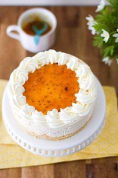 Lakka tuorejuustokakku Sweet Recipes, Cake Recipes, Just Eat It, Creme Brulee, Trifle, Healthy Options, Cheesecakes, Good Food, Fun Food