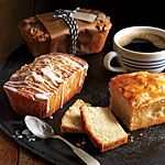 Mini Apple Cider Pound Cakes Recipe | MyRecipes.com Again made this one and it was more dense then the large apple cider pound cake.  I have made both the streusel topping and the lemon and both are D E L I S H