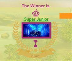 #MTVKpopClash #SuperJunior WINNER #ELF THANKS FOR VOTE!! yeaah super junior win  pic.twitter.com/qctpvMgVLb