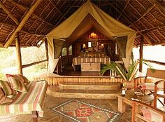 Tortilis Camp, Amboseli National Park - Kenya safari holidays