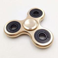 Hand Spinner métal doré