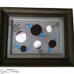 Tableau déco artsoofresh  32cmx38cm fait main acrylique