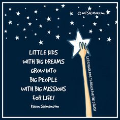 Little kids with big dreams grow into big people with big missions for life! Let's raise kids who reach for the stars! Click image for tools! 5th Grade Graduation, Graduation Theme, Kindergarten Graduation, Graduation Ideas, Dream Big Quotes, Stars Classroom, Karen Salmansohn, Affirmations For Kids, Star Quotes