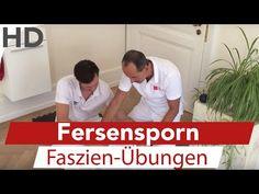 Faszientraining & Übung gegen Fersensporn - YouTube