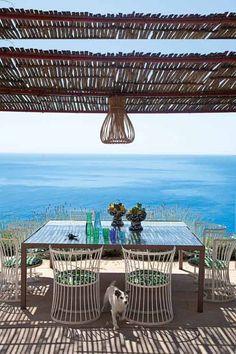 Pergola in a beautiful place: Capri, Italy