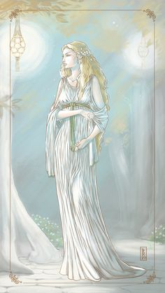 Galadriel by Leslie Boulay