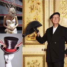 Such an inspiring and bizarre exhibition at Brighton's Royal Pavilion at the moment - Stephen Jones, milliner to the stars and fashion world. Brighton Museum, Royal Pavilion, Stephen Jones, Museums, Galleries, Captain Hat, Shops, In This Moment, Jewellery