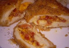Bacon chedder stuffed chicken Recipe -  How are you today? How about making Bacon chedder stuffed chicken?