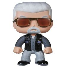 You put it to a vote and decided you need the hardened Clay Morrow to run things around here. Your collection is in good though painful hands with the Sons of Anarchy POP Television Clay figurine. T...
