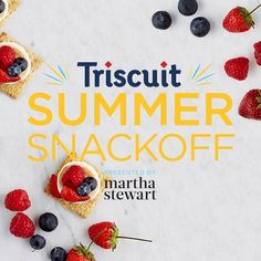 Triscuit. Share it. Eat it. Win a trip to NYC to meet @marthastewart with it. Enter it here: www.triscuitsummersnackoff.com #TriscuitSnackoff