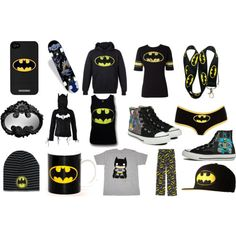 More awesome Batman clothes!!!