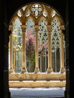 Claustro de la Catedral vieja de Lérida