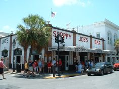 Sloppy Joe's, Key West Florida, may i suggest the classic sloppy joe