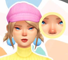 """Sunburns Are Cute"" Blush 🌞 Hello! Sims 4 Cc Skin, Sims 4 Mm Cc, Sims Four, My Sims, Sims 4 Ps4, Sims 4 Gameplay, Los Sims 4 Mods, Sims 4 Cc Makeup, Sims4 Clothes"