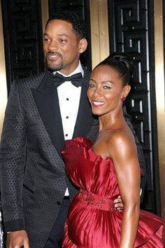 Will Smith and Jada Pinkett Smith   (Photo by Evan Agostini/PictureGroup)