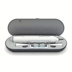 Sonic electronic toothbrush. UV Sanitization. Travel kit.