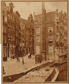 Amsterdam Kolkje bij Zeedijk 1929 | Flickr - Photo Sharing!