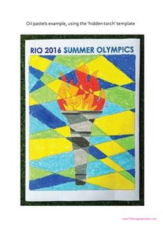 2016 Rio Olympic Games Art Activities and Classroom Decor