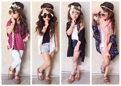 Fashion-Kids-Summer-Girl-s-Clothing-Sets-Lace-blouse-vest-denim-shorts-Stylish-girls-casual-outfit.jpg (779×561)