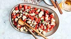 Kale Power Salad, Pasta Salad, Cobb Salad, Cooking Avocado, Different Salads, Bacon, Whats Gaby Cooking, Corn Dogs, Sauerkraut