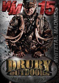 Drury Marketing 12 Drury Whitetail Madness 15 Dvd $4.50