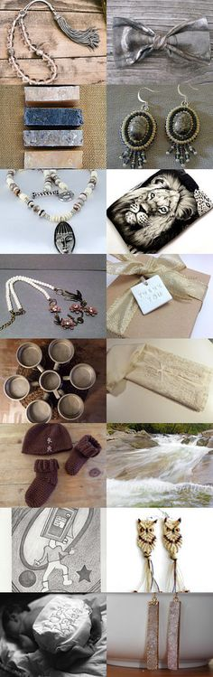 That down to earth feel by Jackie Benedict on Etsy--Pinned with TreasuryPin.com #summerfinds