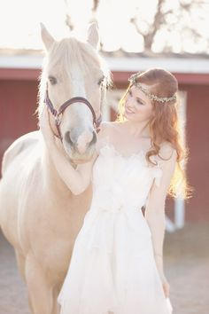 bridal shoot at horse farm...can this actually be done?