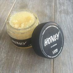Honey lip scrub lush kitchen exclusive