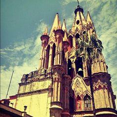 Catedral de San Miguel de Allende. Guanajuato