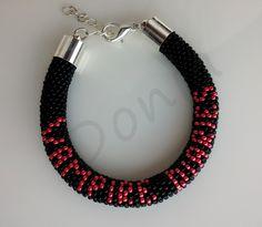 Bead Crochet Bracelet - The Vampire Diaries Edition