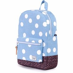 HERSCHEL SUPPLY CO. CLASSIC Small Polka Dot Youth Rucksack Backpack 11L BNWT #Herschel
