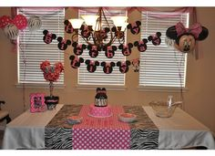 Lily's Minnie Mouse birthday party!
