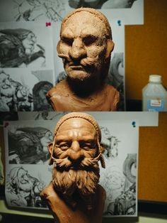 Top tips for beginner clay sculptors. Sculpture by Glauco Longhi