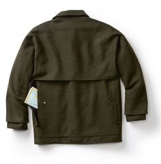 OGbroker.com :: Apparel-Jackets :: Filson Double Mackinaw Cruiser Forest Green 42 10041