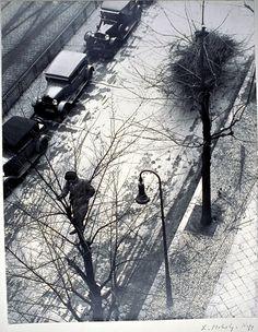 """Spring in Berlin 1928"", L. Moholy=Nagy"