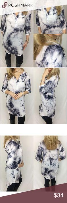c91b2e0fb4241a Gorgeous Boho Chic Tie Dye Tunic Dress Small sold