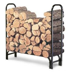 4ft Firewood Rack