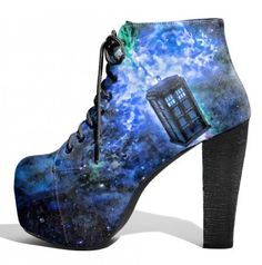 GEEK Style: DOCTOR WHO Heels x Lonely Soles Tumblr | CulturSHOCK
