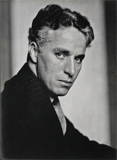 photo noir et blanc : Charles Spencer Chaplin par Edward Steichen, 1926