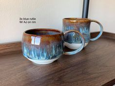 Glazes For Pottery, Pottery Mugs, Ceramic Pottery, Pottery Art, Clay Mugs, Ceramic Mugs, Ceramic Art, Stoneware, Ceramic Glaze Recipes