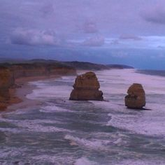2/7 Apostles #beach #12apostles #rocks #cliffs #greatoceanroad #australia #roadtrip @australia @liveinvictoria @visitmelbourne @visitgreatoceanroad by caro_frenchy http://ift.tt/1ijk11S