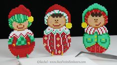 DIY – Décoration de Noël : Lutins Boules en mini perles Hama