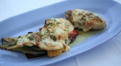 Grillede grøntsager med Scarmoza opskrift - Brødrene Price laver lækker vegetarisk ret, der er kendt fra det italienske køkken - Grillede grøntsager med ost