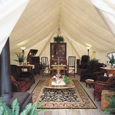 The Games tent, a rustic hideaway at Clayoquot Wilderness Resort  www.wildretreat.com