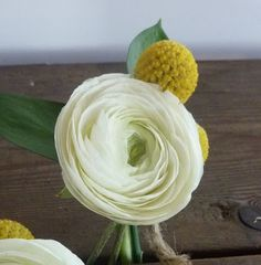 Ranuculus and Billy Ball...two of my fave wedding flowers put together. @Jackie Godbold Godbold Godbold Ranoni